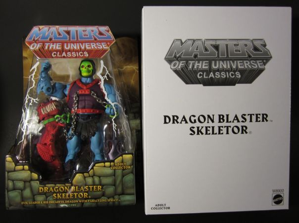Dragon Blaster Skeletor carded