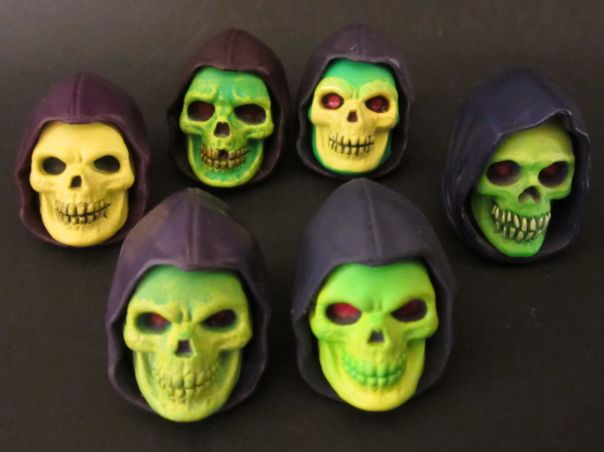 Skeletor heads