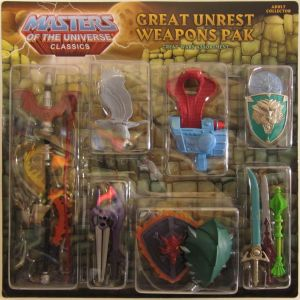 Great Unrest Weapons Pak carded