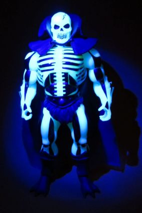Scareglow under blacklight