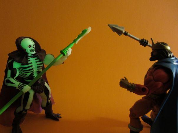 Scareglow vs. Randor