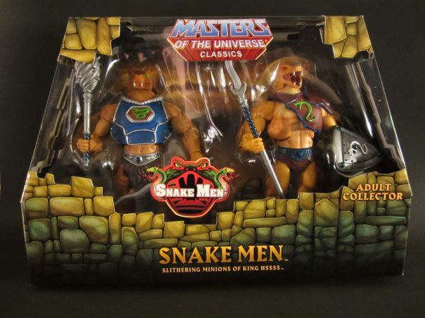 Snake Men in box