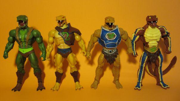 Snake Men comparison