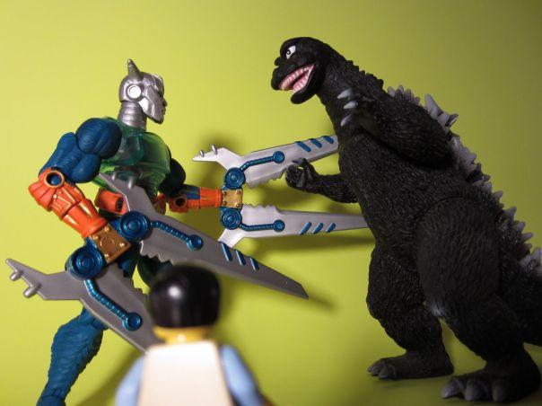 Cy-Chop vs. Godzilla