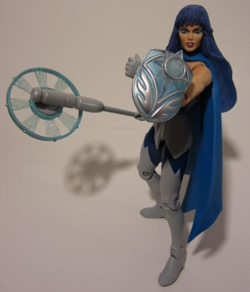 Frosta: shield and wand