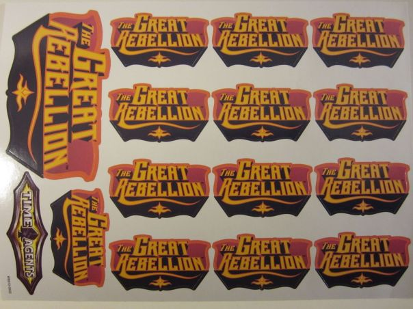 Great Rebellion sticker sheet