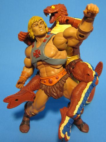 Rattlor vs. He-Man: Snake Attack!