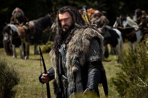 Thorin Oakenshield: In a big hurry to get his stuff back, but not in TOO big a hurry.