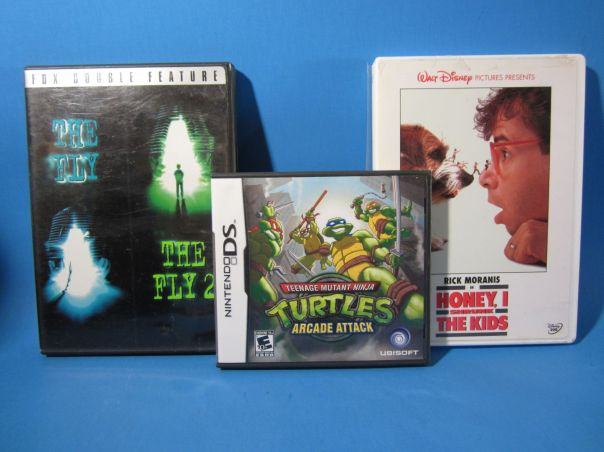 The Fly, Honey I Shrunk the Kids, TMNT: Arcade Attack