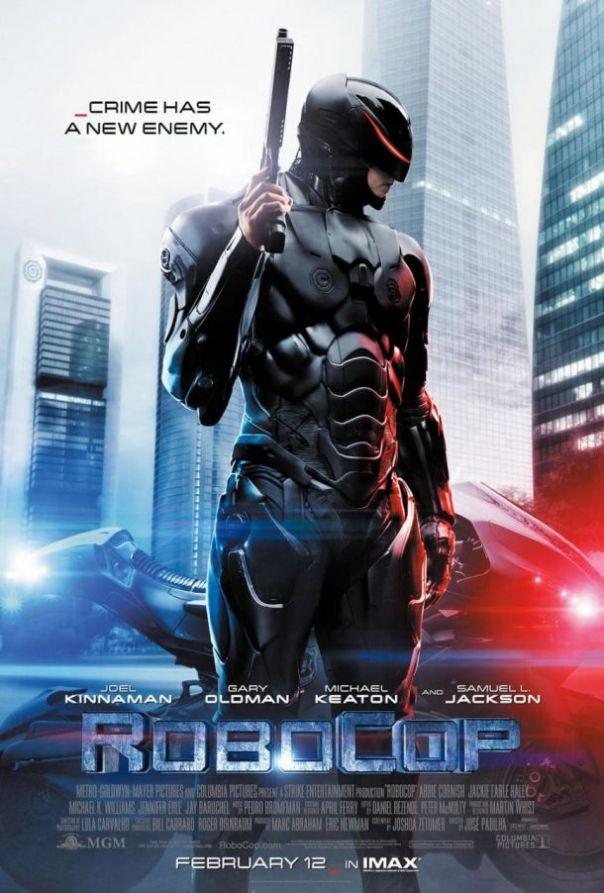 Robocop remake poster