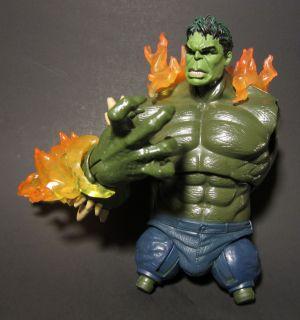 Green Goblin Hulk swap