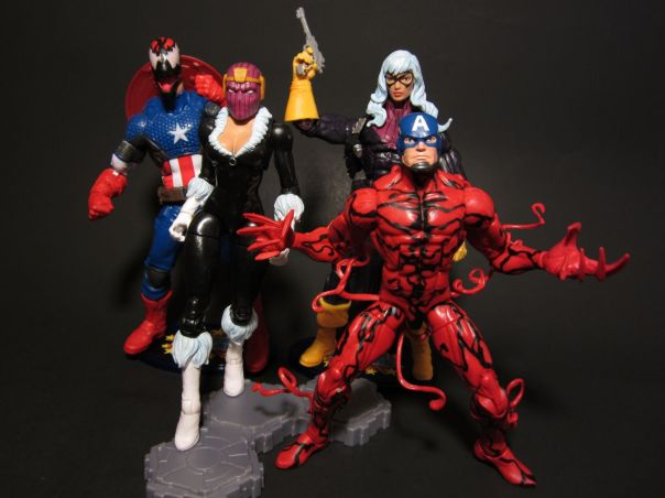 Black Zemo, Baron Cat, Captain Carnage, and uh, America
