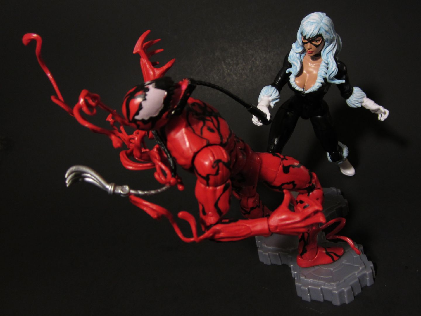 black spiderman vs carnage - photo #3