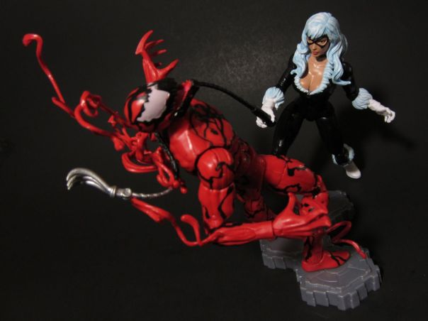 Black Cat vs Carnage